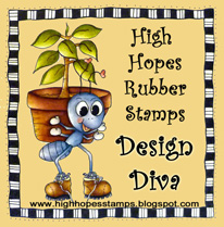 High Hopes Rubber Stamps - Design Diva