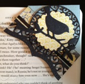 finished corner bookmark